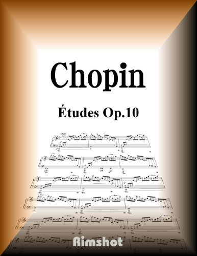 Chopin Etudes Op10 for Piano Solo (Japanese Edition)