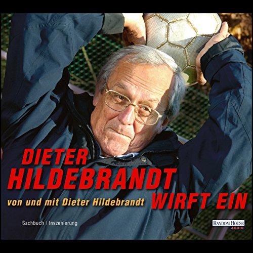 Dieter Hildebrandt wirft ein Titelbild
