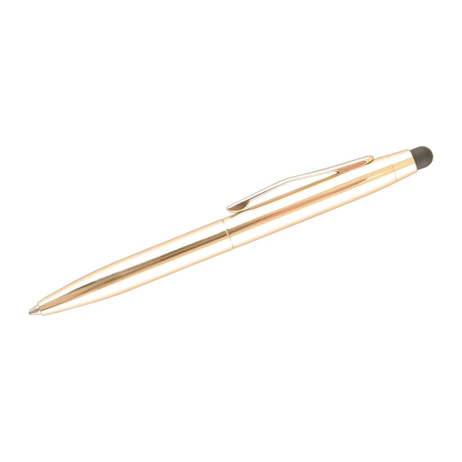 Uchida Of America 007I-C-GLD St. Tropez 2 in 1 Stylus and Pen, Gold