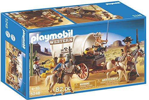 PLAYMOBIL - Caravana con Bandidos, Set de Juego (5248