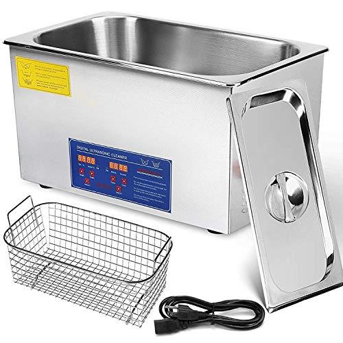 MG-ROCKY - Máquina de limpieza por ultrasonidos (22 L, acer