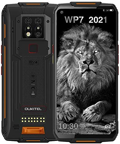 WP7 Rugged Smartphone Night Vision Camera 6GB 128GB Helio P90 Waterproof Unlocked Android Cell product image