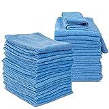 Masthome 36 Stück Mikrofaser Reinigungstücher Set mit Stark Saugfähigkeit und Reinigungsfähigkeit 35x35cm Mikrofasertücher auch Putztuch für Haushalt Geschirr Auto