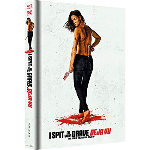 I Spit on Your Grave - Deja Vu - Mediabook Unrated Fassung Cover A - DVD - Blu-ray