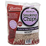 Camerons Products Hickory Wood Smoker Chips - 260 cu. in. (0.004m³) - 100% Natural, Fine Wood Smoking and Barbecue Chips- 2 lb. Bag