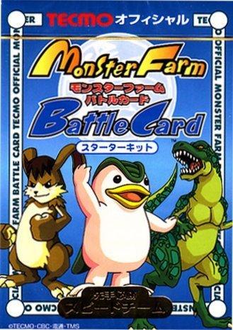 Monster Farm Battle Card Game Starter Deck - Blue Deck