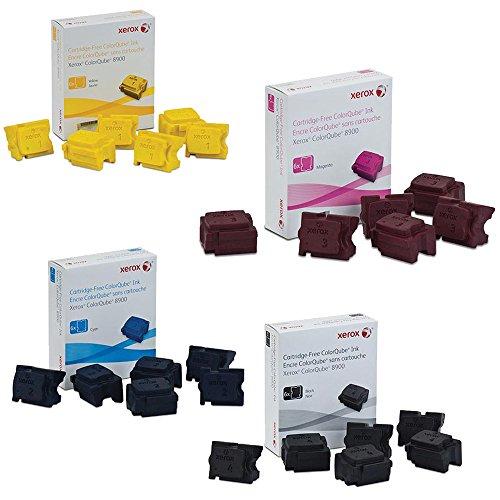 Xerox 108R01014, 108R01015, 108R01016, 108R01017 Ink Cartridge Set - ColorQube 8900