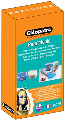 Cleopatre - LCC22-450-E1 - Pasta de silicona para hacer moldes, bicomponente, 2 x 225 gr