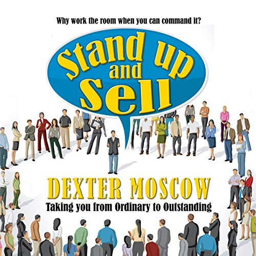 Stand Up and Sell audiobook cover art