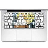 igsticker MacBook Air 13inch 2010 ~ 2017 専用 キーボード用スキンシール キートップ ステッカー A1466 A1369 Apple マックブック エア ノートパソコン アクセサリー 保護 015850 月見 十五夜 うさぎ
