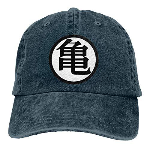 Dragon Ball Z DBZ Anime Classic Unisex Vintage Washed Distressed Baseball-Cap Twill Adjustable Dad-Hat Black