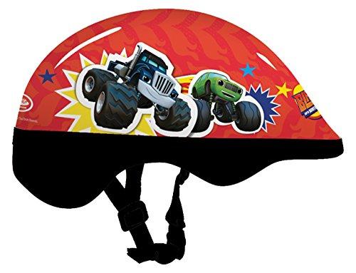 Blaze et Les Monster Machine Obmm212 Casque avec Carte d'en-tête (Petite Taille)