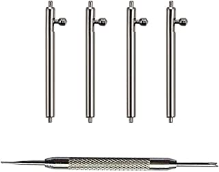 YOFUNTLE 22mm Quick Release Spring Bars,4PCS Stainless Steel Watch Replacement Band Spring Bars Strap Link Pins Diameter 1.5mm +Spring Bar Tool for Samsung Galaxy Watch 46mm/Samsung Gear S3 Classic