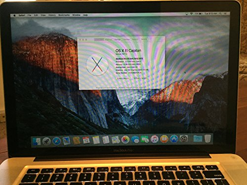 Apple MacBook Pro 15.4-Inch Laptop Intel QuadCore i7 2.2GHz / 16GB DDR3 Memory / 1TB SSHD (Solid State Hybrid) Drive / 1.5GB Video Memory / OS X 10.10 Yosemite / ThunderBolt / DVD Burner