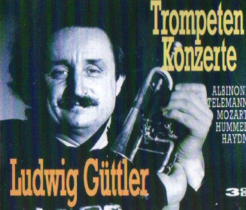 Ludwig Güttler - Trompeten Konzerte - 3 CD's