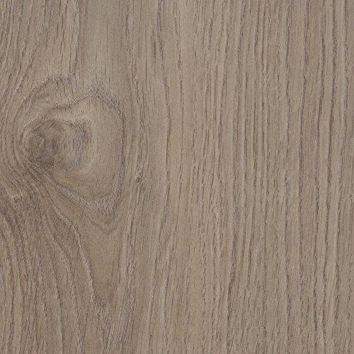 BODENMEISTER BM75001 Klick Laminat-Boden Holzoptik, Dielenoptik Eiche Beige Grau, 1375 x 188 x 12 mm