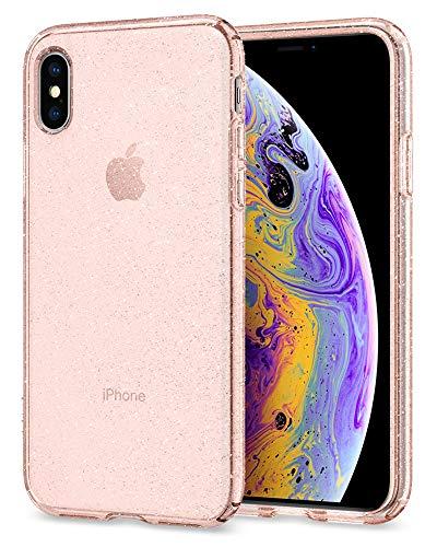 【Spigen】 iPhone XS ケース/iPhone X ケース 5.8インチ 対応 TPU クリア 超薄型 超軽量 クリア リキッド...