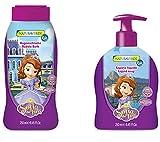 Cadeau Fille Bébé Enfant DISNEY Princesse SOFIA - Shampooing et Conditionneur de cheveux 250 ml + savon liquide pour les mains 250 ml;