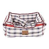 Puppia PAQA-AU1426 Hunde Bett, Vogue, Beige