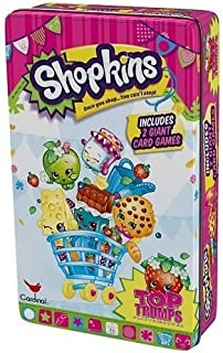 Shopkins Top Trumps Play & Discover Cards & Tin Set by Cardinal