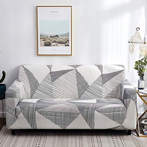 Funda de sofá elástica Universal para Sala de Estar, Toalla de sofá, Funda de sofá Antideslizante a Prueba de Polvo, Funda de sofá elástica A20 de 3 plazas