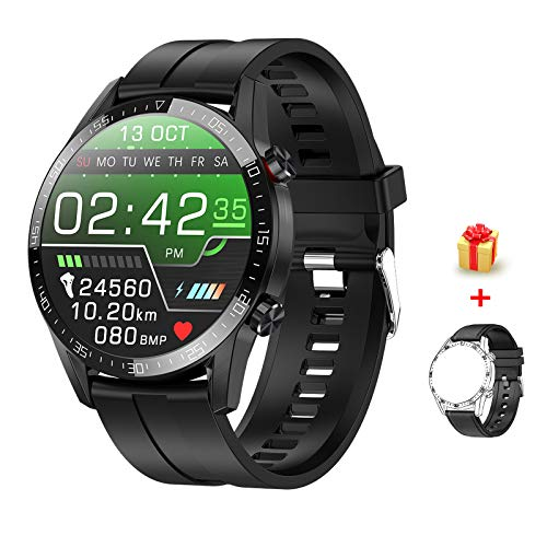 "Voigoo Smartwatch (2021 neu) 1.3"" Touch Screen Herren Damen Intelligente Uhren Sport 