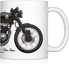 GarageProject101 CB750 cafe racer motorcycle illustration Coffee Mug