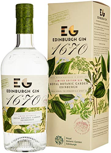 Edinburgh Gin 1670 limited Edition - hochgelobt im Gin Blog