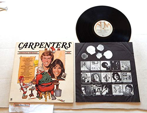 Carpenters Christmas Portrait - A&M Records 1978 - 1 Used Vinyl LP Record - 1978 Pressing SP-4726 - Sleigh Ride - Christmas Song - Christ Is Born - Ave Maria