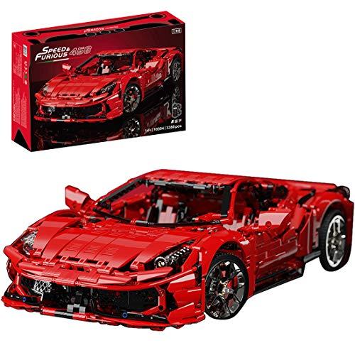 Trueornot Juego de construcción para coche, 3380 piezas, modelo de coche deportivo, compatible con la técnica Lego.