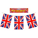 BUNTING UNION JACK 12FT 11 FLAGS PVC