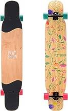 Playshion 46 Inch Dancing Longboard Skateboard Complete