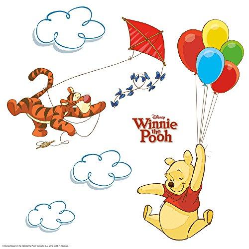 Komar 16403 Winnie Pooh Window-Sticker, Bunt, 31 x 31 cm