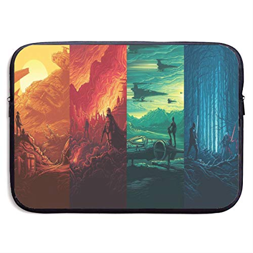 Star Wars Laptop Sleeve Bag Tablet Briefcase Ultraportable Protective Canvas for MacBook Pro/MacBook Air/Notebook Computer13 Inch