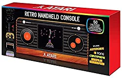A stunning reimagined Atari 'Retro' Handheld with 50 built-in games and TV output!Featuring a spectacular collection of classic titles including Asteroids, Pong, Centipede, Missile Command, Breakout, Millipede and more. Reimagined design with immorta...