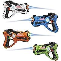 4-Pack GPX Laser Tag Blasters