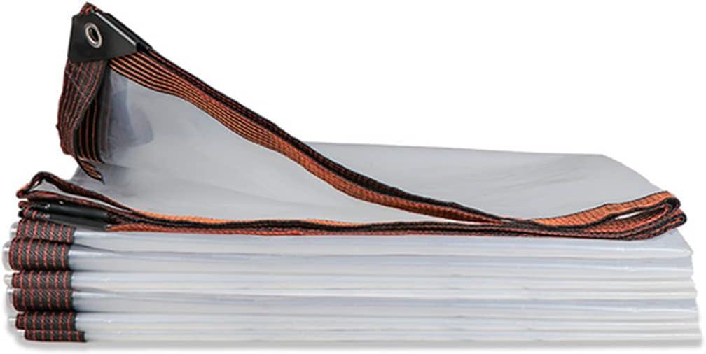 FOTLL Transparent Tarp Tarps Clear Max 84% OFF 5 Austin Mall Waterproof Transparen Mil