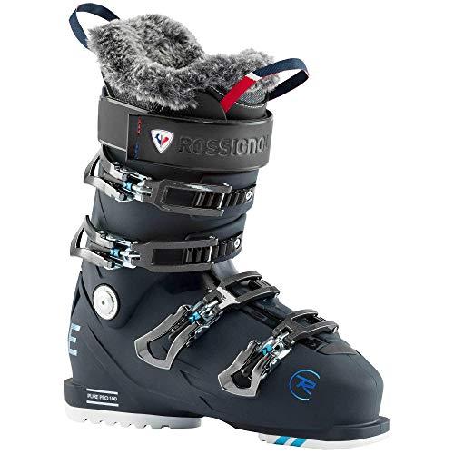 Rossignol Pure Pro 100 damskie buty narciarskie, niebieskie, czarne, 23.0