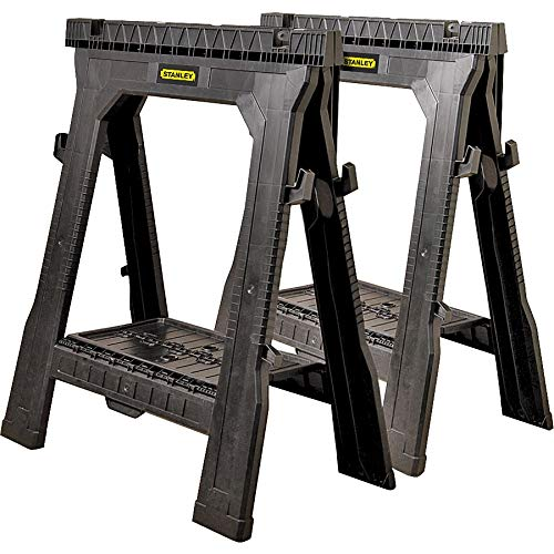 Stanley Storage 060864R 31.5' Folding Sawhorse 2-count