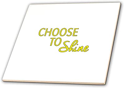 T-Shirts Choose to Shine Black 3dRose EvaDane Motivational Sayings