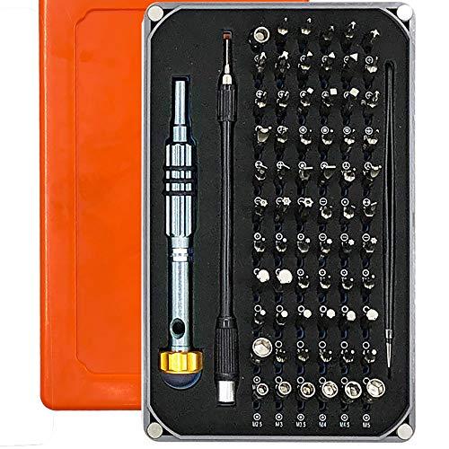Destornilladores 69 en 1 profesionales magnéticos de precisión reparación para smartphones juguetes electrónicos relojes