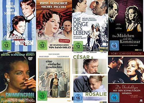 Romy Schneider Mega Collection – Mädchen in Uniform + Sans-Souci + Dinge des Lebens + Mädchen und der Kommissar + Swimmingpool + Cesar & Rosalie.. 8 DVD Limited Edition