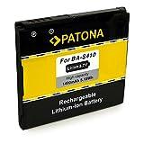 PATONA Bateria BA-S410 1400mAh Compatible con HTC Bravo Desire Dragon G5 Nexus One Zoom 2 A8181