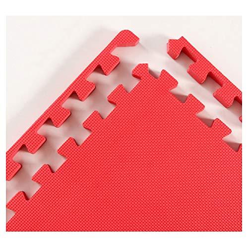 WUZMING-Tapis Puzzle En Mousse Tuiles Imbriquées Plancher De Mousse Tapis Rampant Bébé Jeux for Enfants Imperméable Résistant À l'usure Jardin d'enfants sous-Sol