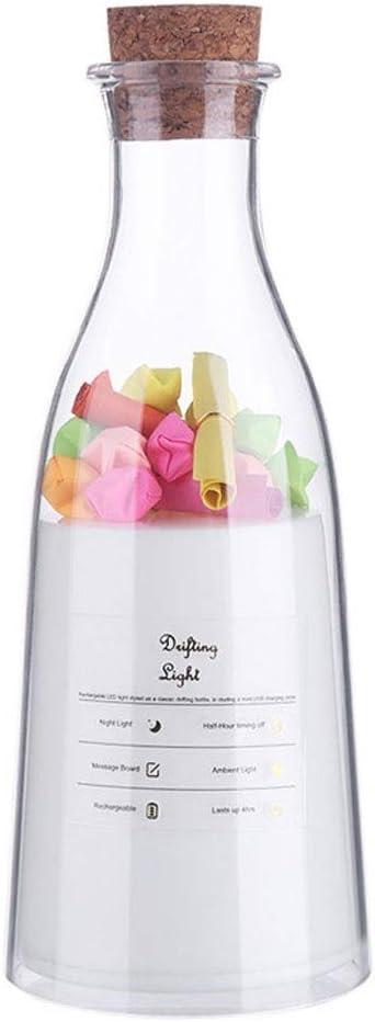 ZHCHL Desk Safety and trust Lamps Lamp Milk Bottle Light Shape Sleep Ligh Message Recommended
