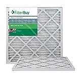 Furnace Filters/Air Filters - AFB Platinum MERV 13, Multicolored, AFB20x20x1M13pk2