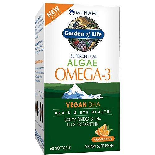 Garden of Life Minami Algae Omega-3 60 Softgels