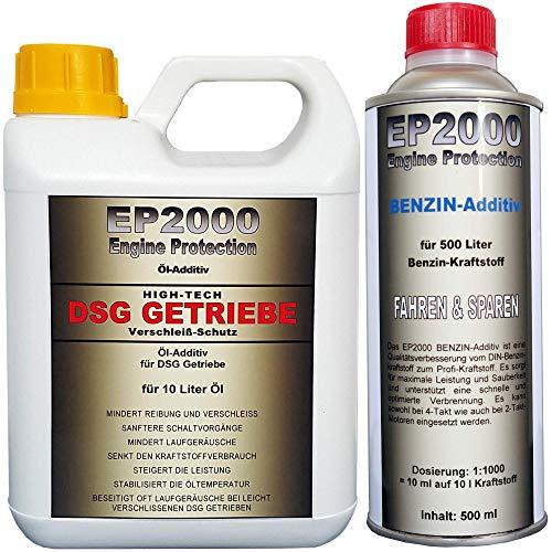 Röde-Technik EP2000 DSG Getriebe 1 l & Benzin 500 ml-Additiv [Set]