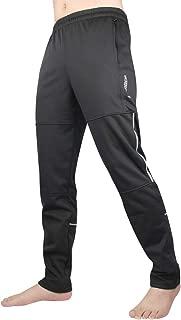 LAMEDA Windproof Thermal Fleece Bike Pants Winter Running Outdoor Sweatpants Cycling Sports Casual Trousers