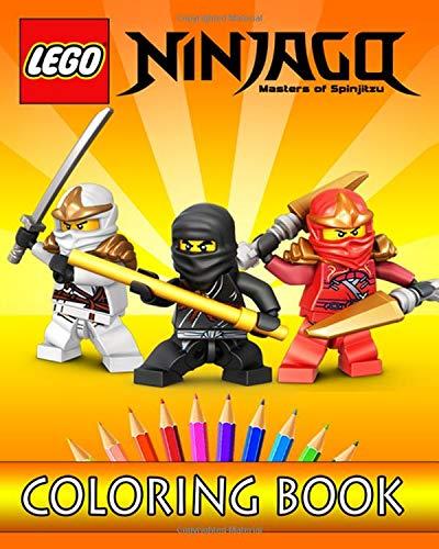 - LEGO NINJAGO Coloring Book: Coloring Book For Kids - 30 Easy Illustrations  For Coloring- Buy Online In Israel At Desertcart